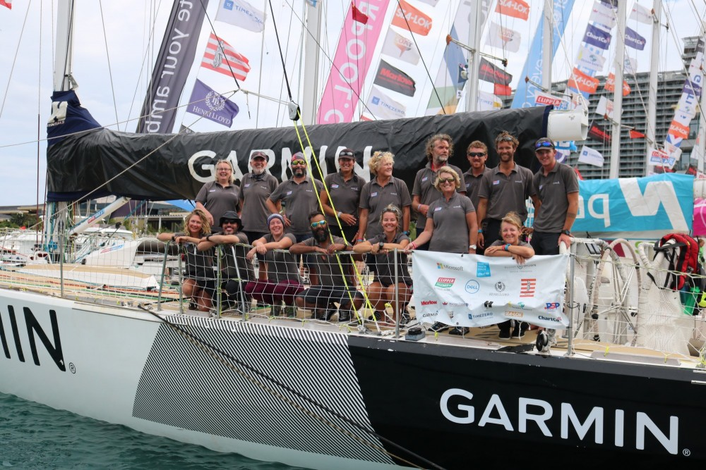 Gaetan Thomas - Rolex Sydney Hobart yacht race Clipper70 Podium for Garmin