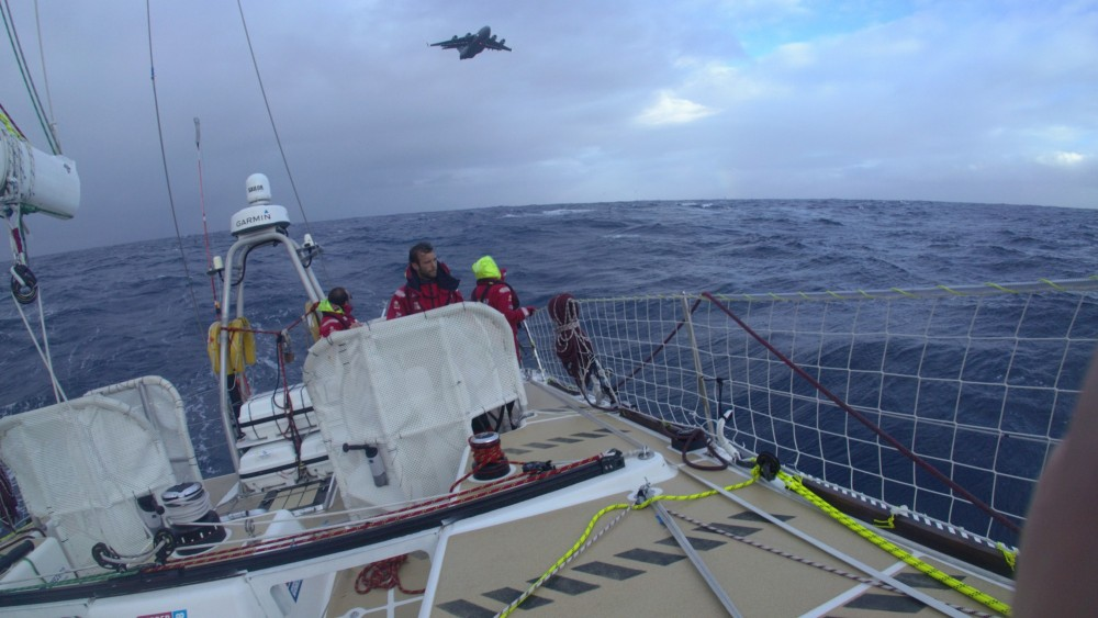 Gaetan Thomas - Southern Ocean medical evacuation onboard Garmin