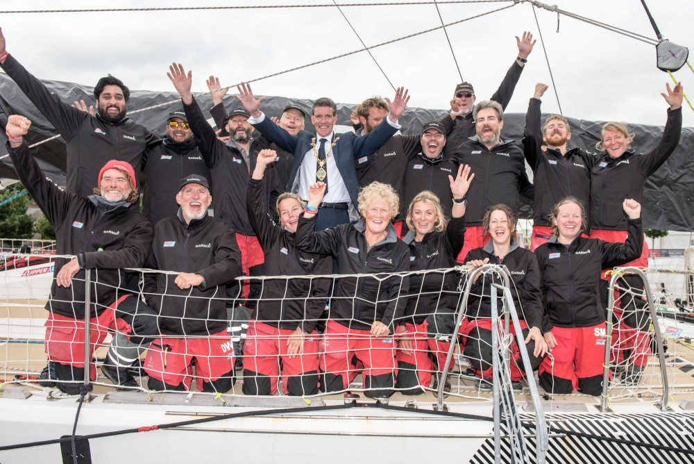 Gaetan Thomas - A Belgian skipper participated at Clipper round the world race
